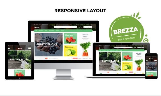 Fruit Store responsive theme